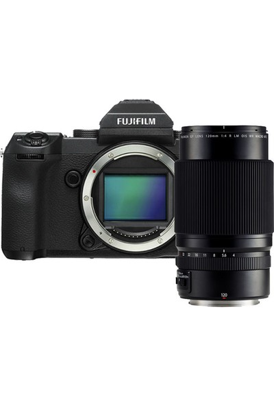 Fujifilm GFX 50S + GF120mm F4 Macro R LM OIS WR Kit