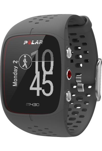Polar M430 Bilekten Nabız Ölçerli GPS'li koşu saati - Siyah (Türkçe Dil Desteği)