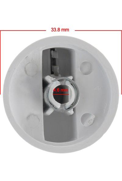 KG-Part Bosch Set Üstü Fırın Düğmesi Beyaz