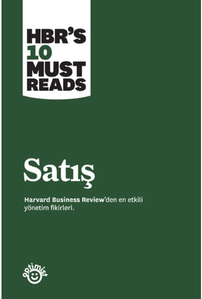 Satış:Harvard Business Rewiew Press