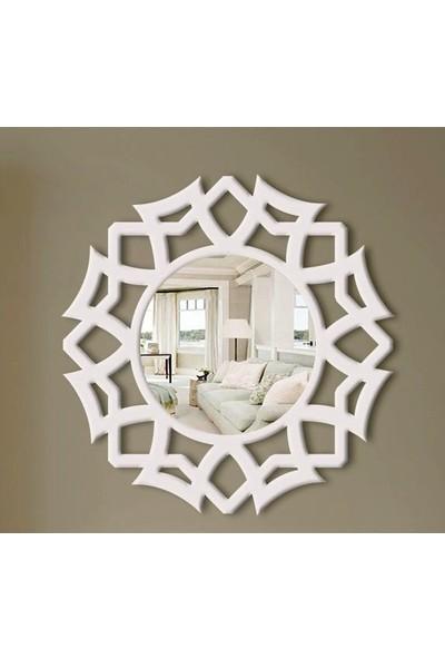 Atölye Galata Dekoratif Ahşap Ayna