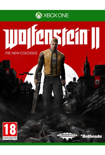 Wolfensteın II: The New Colossus Xbox One