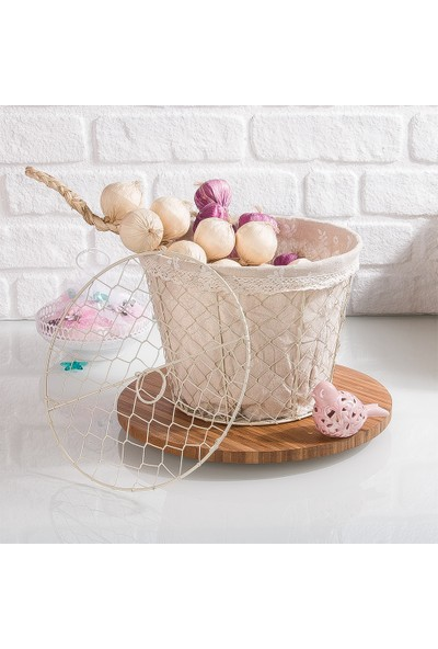 Şener Beyaz Telli Patates Sepeti Soğan Sepeti