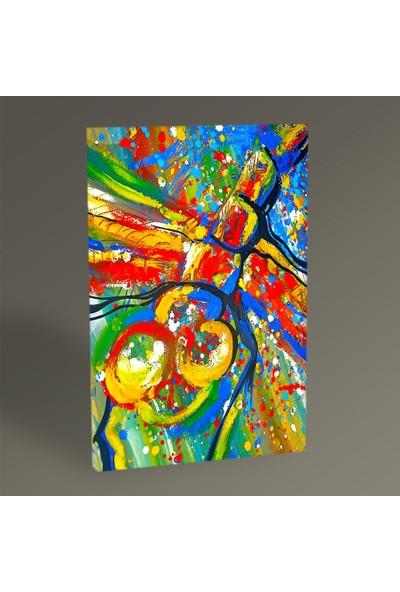 Tablo 360 - Renkli Soyut Tablo 60X40