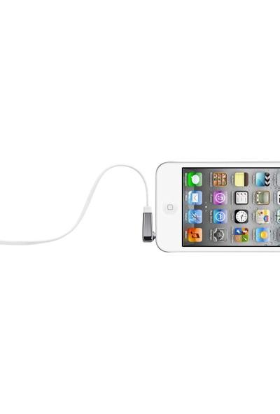 Belkin 3.5mm Flat Aux Kablo 0.9m - Beyaz