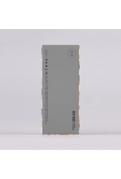 Emie 10000 mAh Taşınabilir Şarj Cihazı Memo-Pop - ES100-L