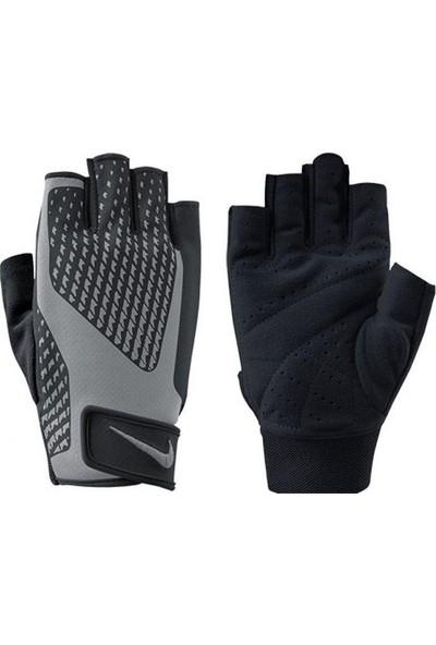 Nike Training Gloves 2.0 Unisex Ağırlık Eldiveni Siyah N.Lg.38.027