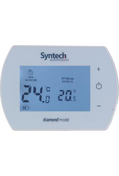 Syntech Kablolu Dijital Oda Termostatı Diamond