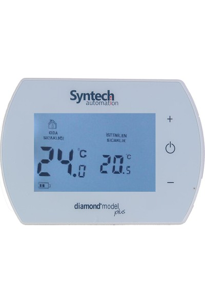 Syntech Kablosuz Dijital Oda Termostatı Diamond Plus