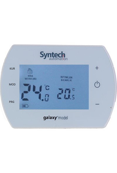 Syntech Kablolu Programlanabilir Dijital Oda Termostatı Galaxy