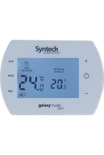 Syntech Kablosuz Programlanabilir Oda Termostatı Galaxy Plus