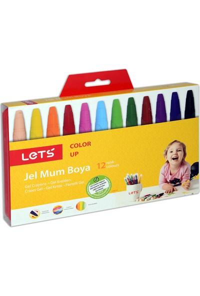 Lets Mum Boya 12 Renk Jel