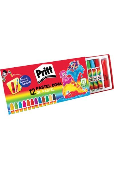 Pritt Pastel Boya 12 Renk Karton Kutu