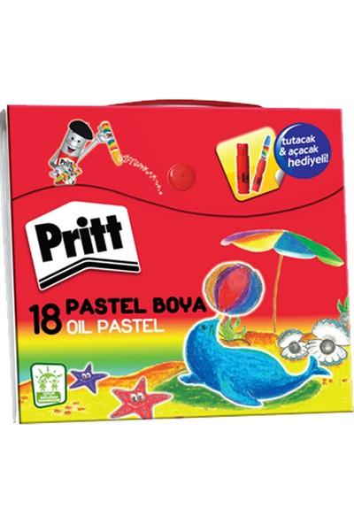 Pritt Pastel Boya 18 Renk Çanta