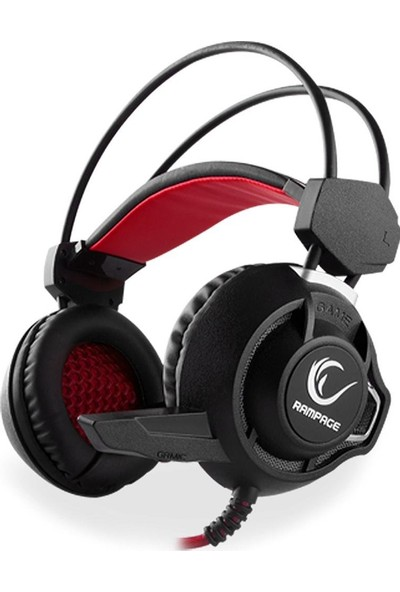 Rampage Sn-Rw2 Oyuncu Siyah Mikrofonlu Kulaklık