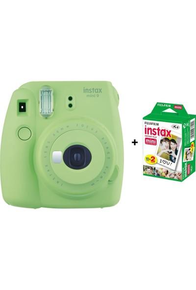 Fujifilm İnstax mini 9 + 20'Li Film Yeşil Set