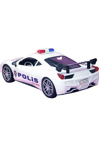Pasifik Kumandalı Şarjlı Polis Arabası