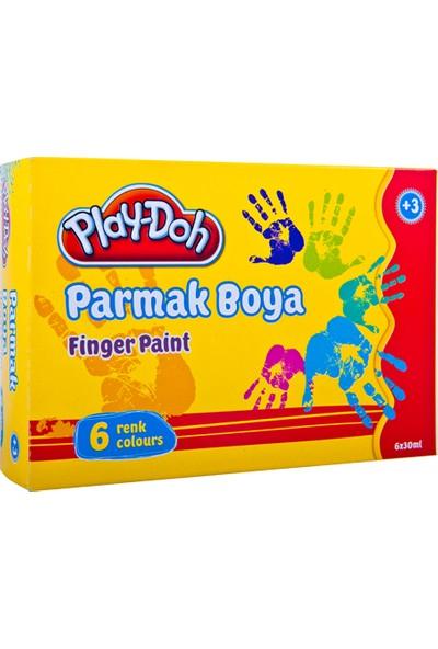 Playdoh Parmak Boya 6 Renk 30 Ml