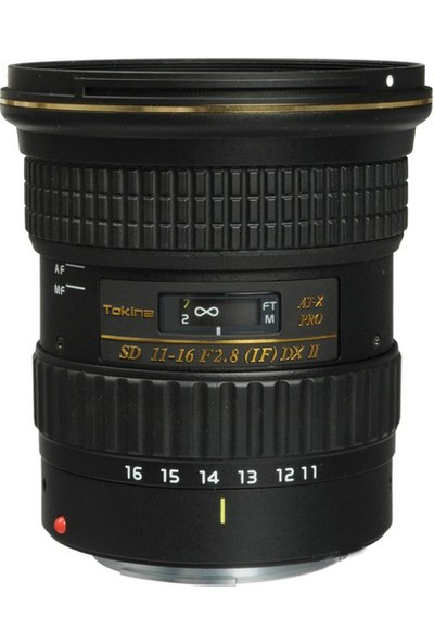 Tokina 11-16mm F2.8 AT-X PRO DX II Objektif Canon Uyumlu