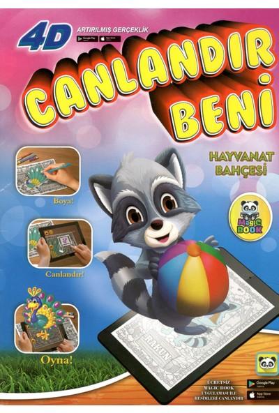 Magic Book Hayvanat Bahçesi: Sihirli Boyama Kitabı