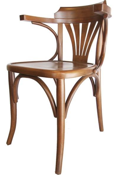 SZN Wood Sandalye Thonet Ahşap Ayak Lina