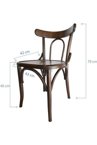 SZN Wood Sandalye Thonet Ahşap Ayak Kena