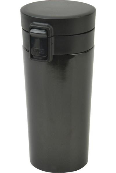 Allmug İç-Dış Çelik 360 ml Termos -Siyah