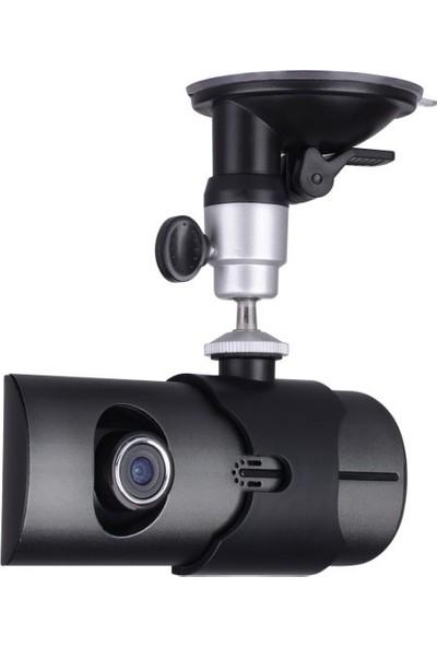 Solaner D220 Çift Kameralı Araç İçi Kamera Gps Anten