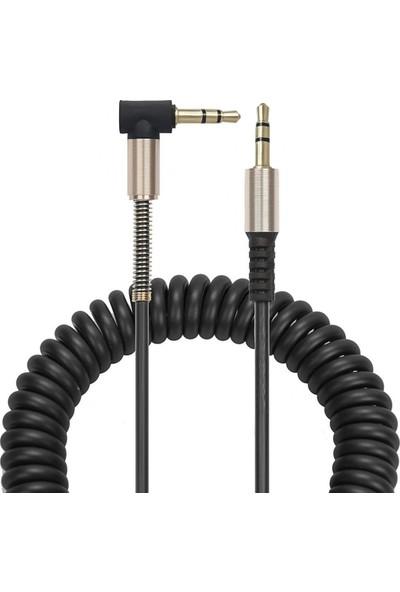 Bludfire 3.5MM L Tipi Spralli Audio Aux Kablo