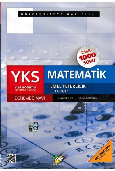 Fdd Yks Matematik 1. Oturum Deneme Sınavı