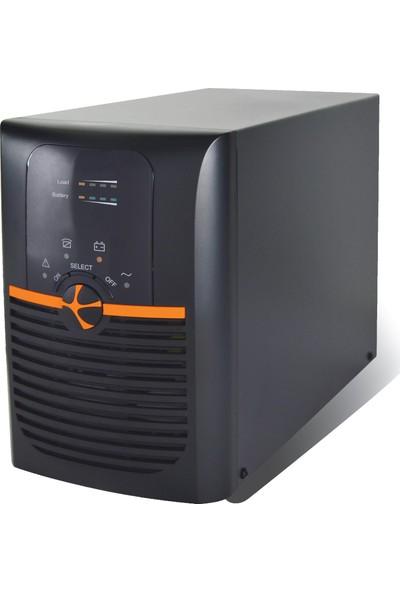 Tunçmatik Newtech Pro II X9 2KVA 1/1 On-Line UPS (TSK5323)