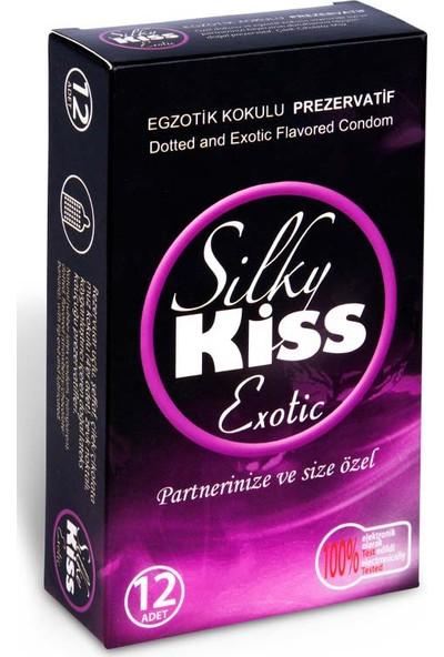 Silky Kiss Egzotik Kokulu Prezervatif 12 Adet Condom