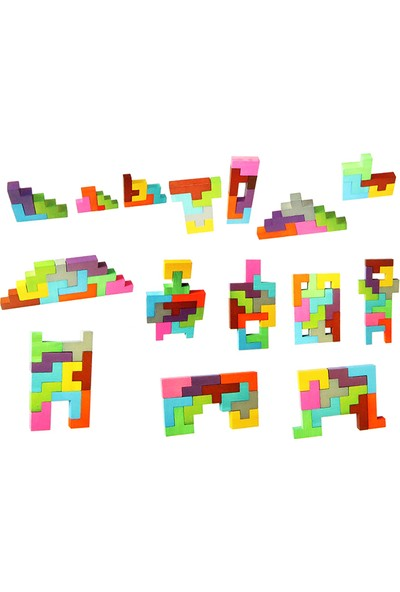 Akay Hi-Q Toys Geopenta -Katamino Akıl ve Zeka Oyunu