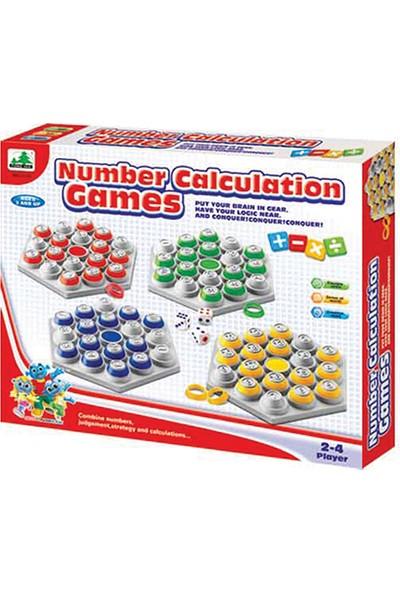 Hi-Q Toys Number Calculation Games (Sayı Hesaplama Oyunu) - Aile Zeka Oyunu