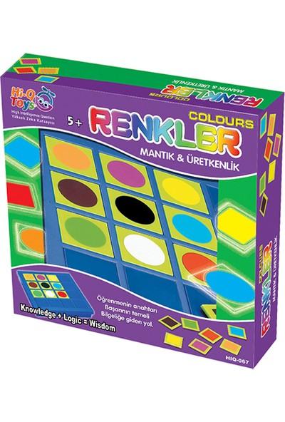 Hi-Q Toys Renkler (Colours) - Akıl ve Zeka Oyunu