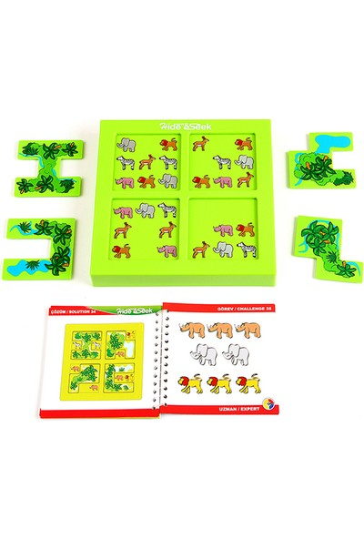 Hi-Q Toys Safari Hide & Seek (Safari Saklambaç) - Zeka Oyunu
