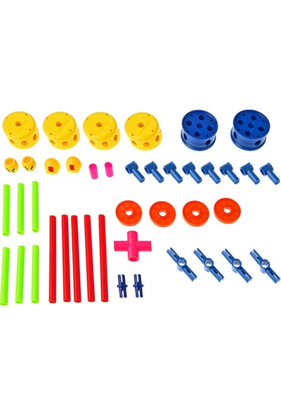 Hi-Q Toys Çocuk Parki Yap Boz Lego 42 Parça