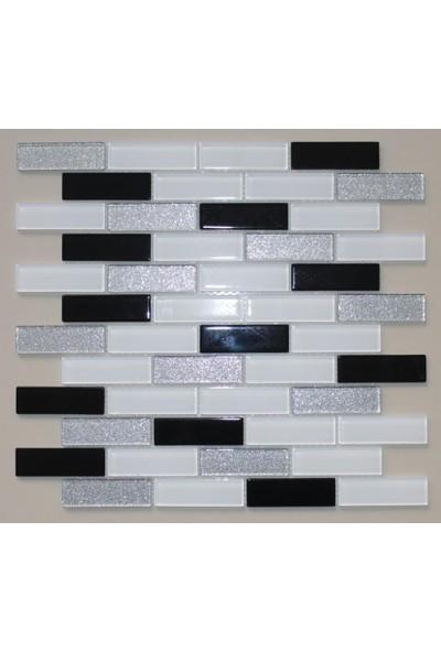 Mcm Mutfak Tezgah Arası Kristal Cam Mozaik Mp 487