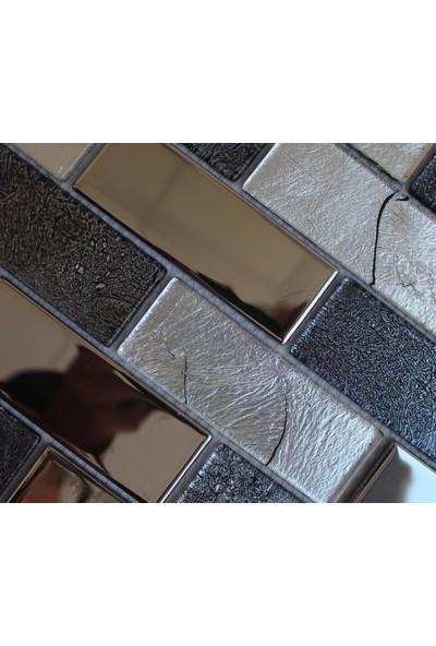 Mcm Mutfak Tezgah Arası Kristal Cam Mozaik Mp 759