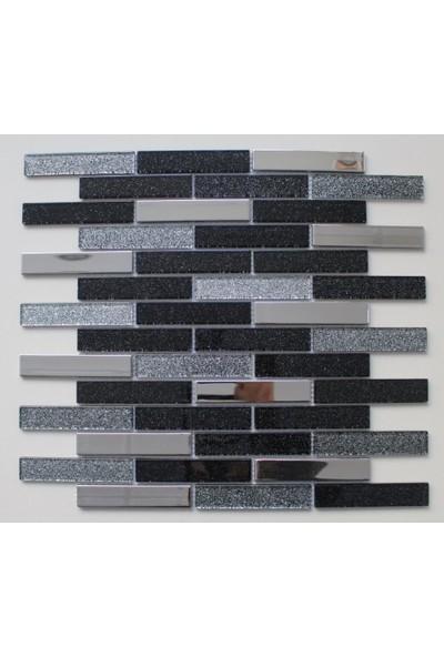 Mcm Mutfak Tezgah Arası Kristal Cam Mozaik Mp 916