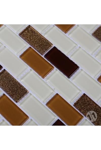 Mcm Mutfak Tezgah Arası Kristal Mozaik Cam Mozaik Mp 401/S