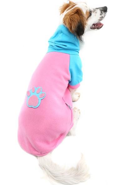 Dogi & Dog Pink Pati Köpek Sweati