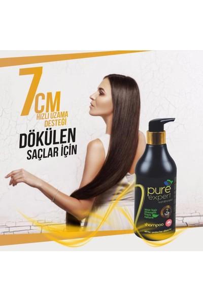 Pure Expert At Kuyruğu Şampuanı ( 7CM Saç Uzatma Desteği )