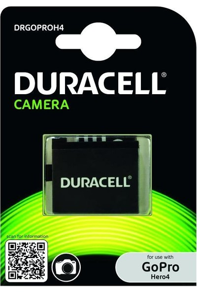 Duracell Drgoproh4 Pil Gopro Hero4
