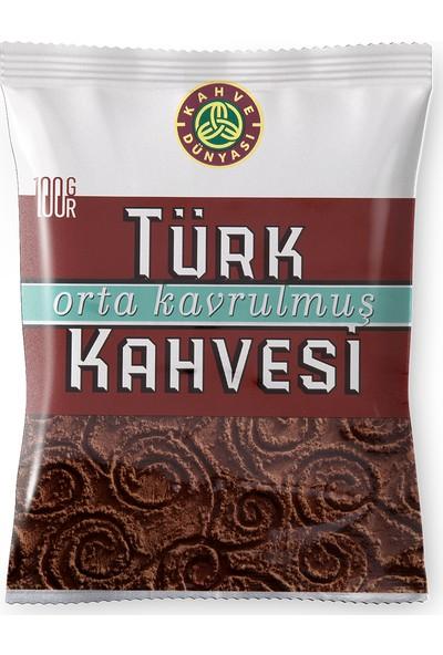 Kahve Dünyası Orta Kavrulmuş Türk Kahvesi 100gr