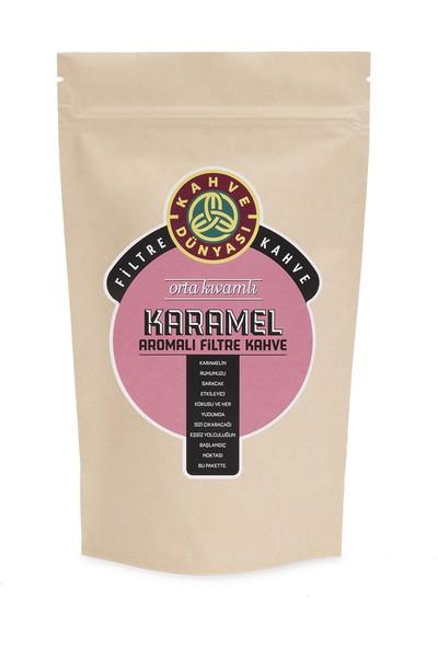 Kahve Dünyası Karamel Aromalı Filtre Kahve 250 gr