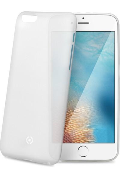 Celly Frost iPhone 7 Plus Beyaz Kılıf -FROST801WH