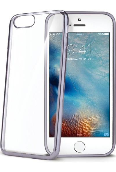 Celly Laser Cover iPhone 7 Gri Kılıf -LASER800DS