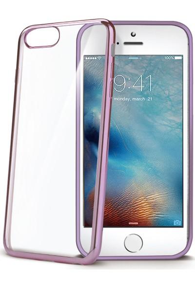 Celly Laser Cover iPhone 7 Rose Gold Kılıf -LASER800RG