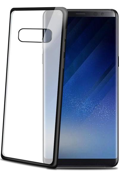 Celly Laser Matt Cover Galaxy Note 8 Siyah Kılıf -LASERMATT674BK